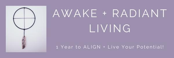 3 Rounds - Awake + Radiant Living