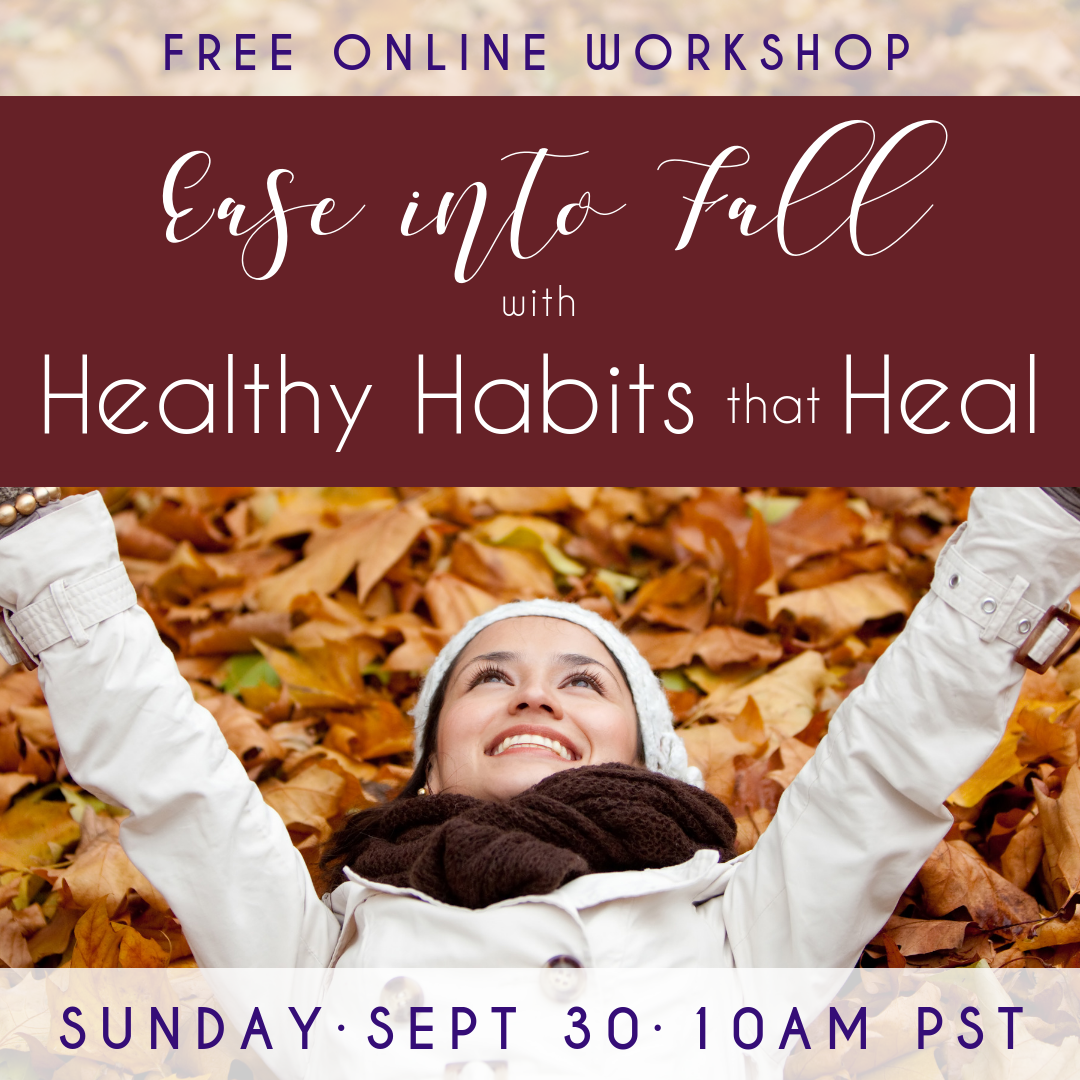 Ease Into Fall Webinar