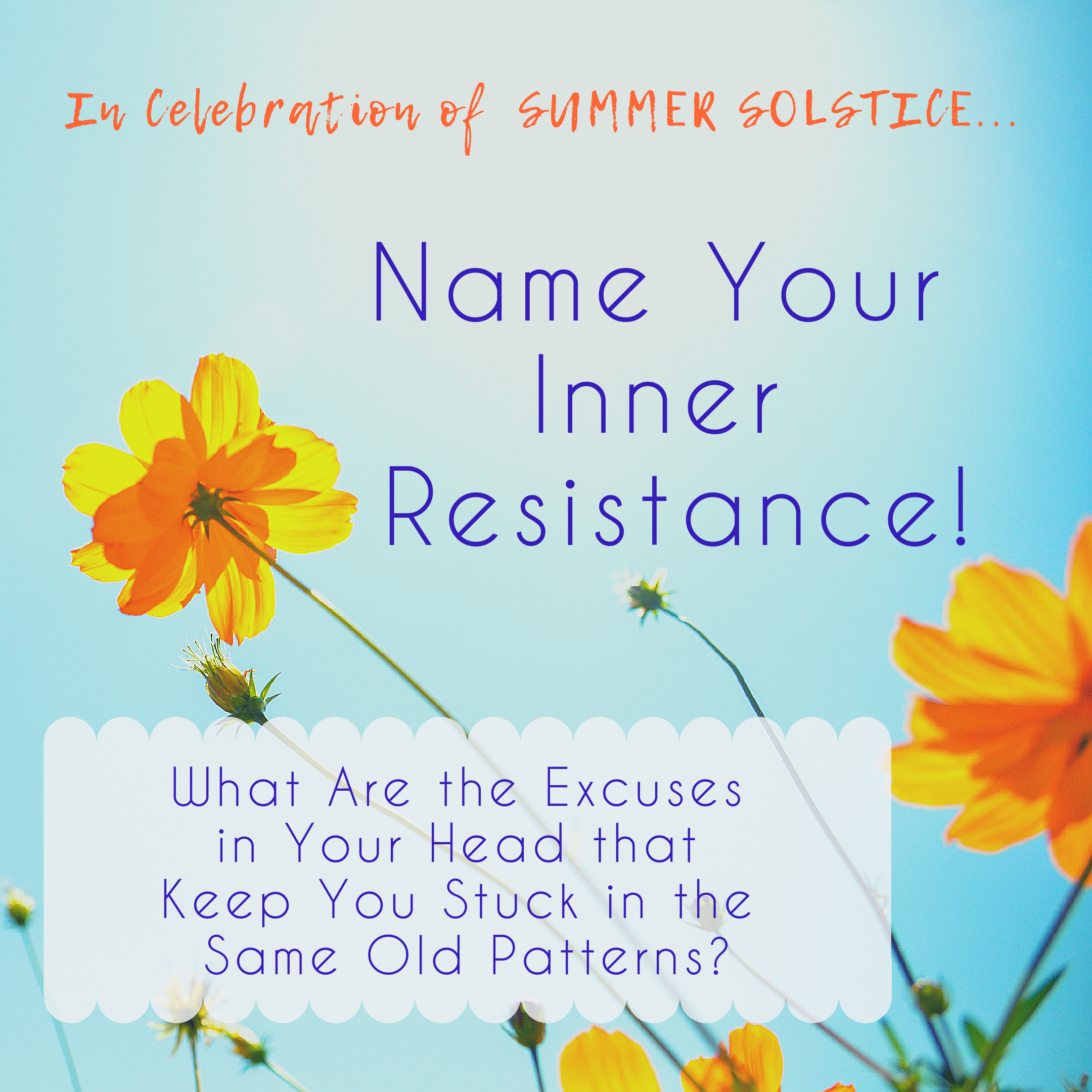Name Your Inner Resistance!